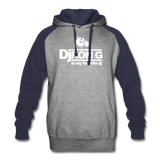 Dj Ron G is My Favorite DJ Hoodie - heather gray/navy