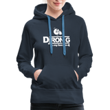 Women's Dj Ron G is My Favorite DJ Hoodie - navy