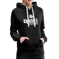 Women's Dj Ron G is My Favorite DJ Hoodie - charcoal gray
