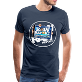 Support The RAW REPORT UNISEX Premium T-Shirt - navy