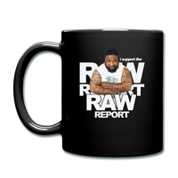 I support The Raw Report Color Mug - black