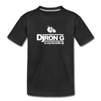 Children's DJ Ron G is My Favorite Dj  Premium T-Shirt - black
