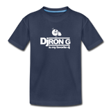 Children's DJ Ron G is My Favorite Dj  Premium T-Shirt - navy