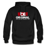 Just Be Yourself  Heavy Blend Adult Hoodie - black