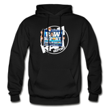 The RAW Report Heavy Blend Adult Hoodie - black