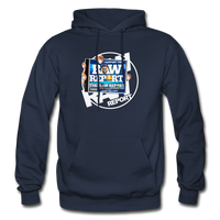 The RAW Report Heavy Blend Adult Hoodie - navy