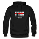 BE YOURSELF BE ORIGINAL Heavy Blend Adult Hoodie - black