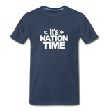IT NATION TIME Premium T-Shirt - navy