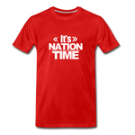 IT NATION TIME Premium T-Shirt - red
