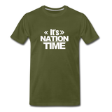 IT NATION TIME Premium T-Shirt - olive green