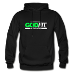 God FIT ACTIVEWEAR Heavy Blend Adult Hoodie - black