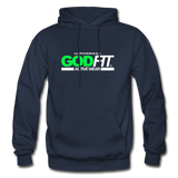 God FIT ACTIVEWEAR Heavy Blend Adult Hoodie - navy