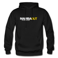 MAMBA OUT Heavy Blend Adult Hoodie - black