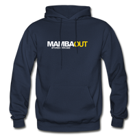 MAMBA OUT Heavy Blend Adult Hoodie - navy