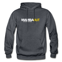 MAMBA OUT Heavy Blend Adult Hoodie - charcoal gray