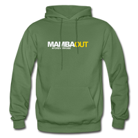 MAMBA OUT Heavy Blend Adult Hoodie - military green