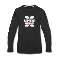 SUPREME WISDOM  Premium Long Sleeve T-Shirt - black