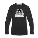 FEARLESS COMMUNITY BUILDERS Premium Long Sleeve T-Shirt - black
