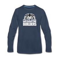 FEARLESS COMMUNITY BUILDERS Premium Long Sleeve T-Shirt - navy