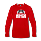 FEARLESS COMMUNITY BUILDERS Premium Long Sleeve T-Shirt - red