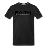 FAITH Premium T-Shirt - black