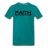 FAITH Premium T-Shirt - teal