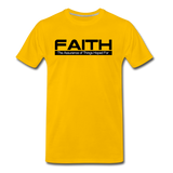 FAITH Premium T-Shirt - sun yellow
