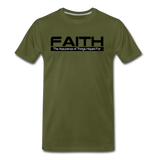 FAITH Premium T-Shirt - olive green