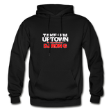 Take em UPTOWN  Heavy Blend Adult Hoodie - black