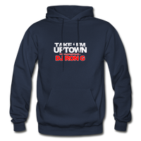 Take em UPTOWN  Heavy Blend Adult Hoodie - navy