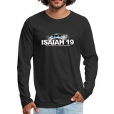 Isaiah 19 Premium Long Sleeve T-Shirt - black
