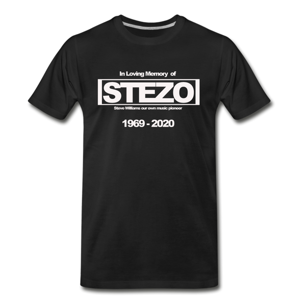 In Loving Memory of Stezo Premium T-Shirt - black