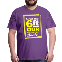 Give me 6ft Premium T-Shirt - purple