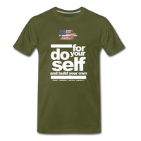 do for self  Premium T-Shirt - olive green