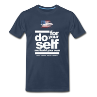 do for self  Premium T-Shirt - navy