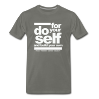 Do For Your Self Premium T-Shirt - asphalt gray