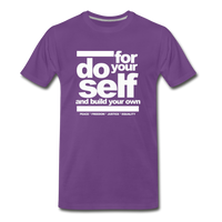 Do For Your Self Premium T-Shirt - purple