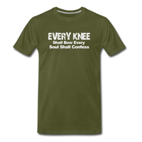 Every Knee Premium T-Shirt - olive green