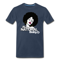 ALL NATURAL BABY Premium T-Shirt - navy