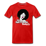 ALL NATURAL BABY Premium T-Shirt - red
