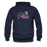 I am a believer Hoodie - navy
