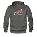 I am a believer Hoodie - charcoal gray