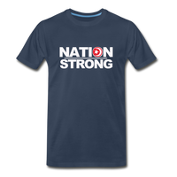 Nation Strong Premium T-Shirt - navy