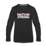 Nation Strong Premium Long Sleeve T-Shirt - black