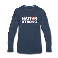 Nation Strong Premium Long Sleeve T-Shirt - navy