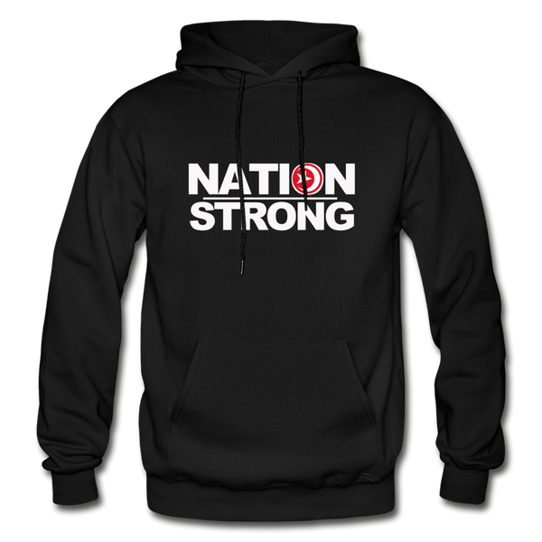 Nation Strong Heavy Blend Adult Hoodie - black