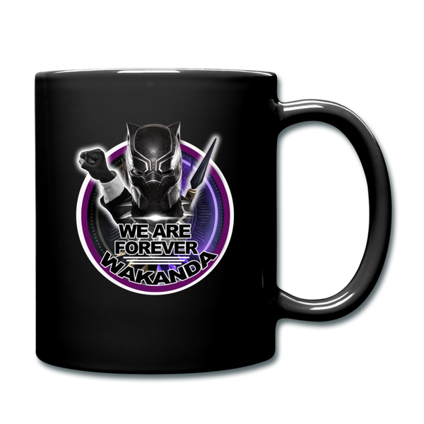 We Are Forever Wakanda Color Mug - black
