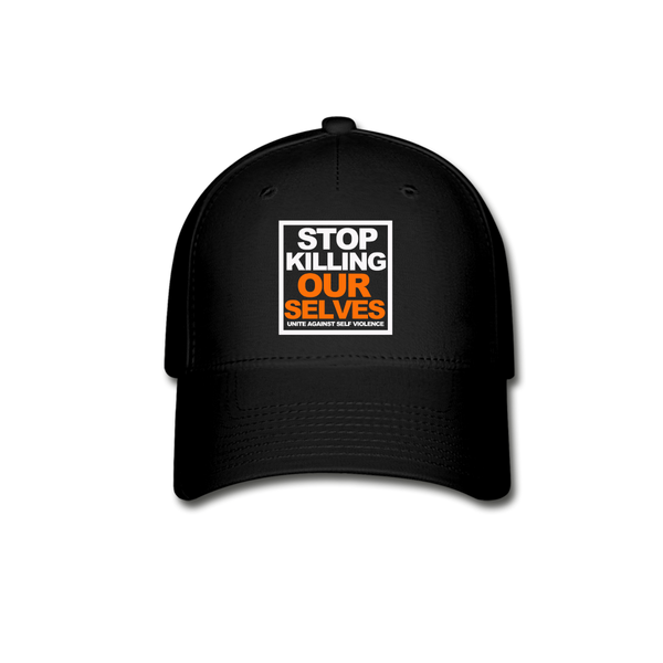 STOP KILLING OURSELVES Cap - black