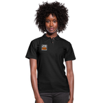 STOP KILLING OURSELVES Women's Pique Polo Shirt - black