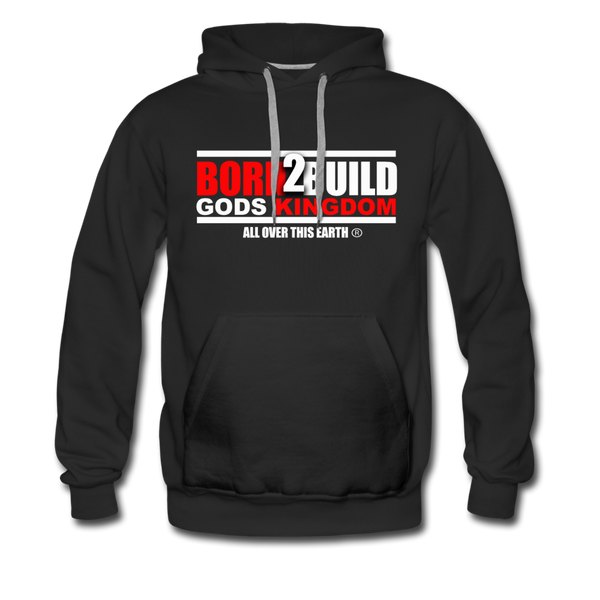 BORN 2 BUILD Premium Hoodie - black